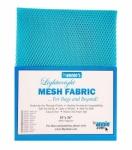 Lightweight Mesh Fabric Parrot Blue 18x54in