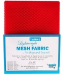Mesh Lite Weight Atomic Red 18in x 54in