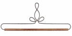 12in Powder Coated Heirloom Hanger/Holder by Ackfeld