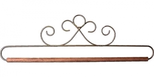 12in Gold French Curl Hanger/Holder by Ackfeld