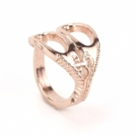 Scissor Adjustable Rose Gold Ring