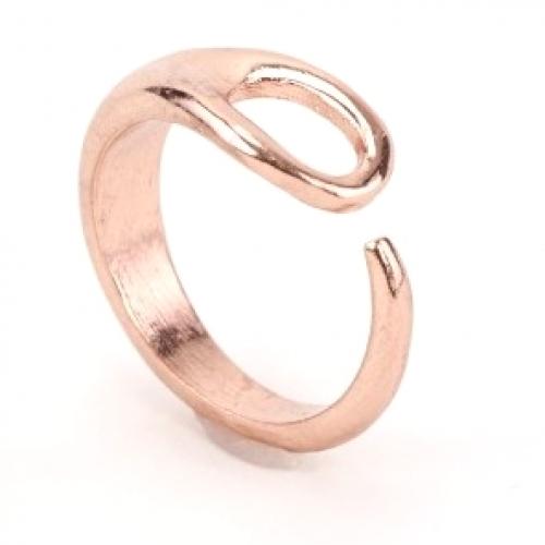 Needle Adjustable Rose Gold Ring