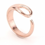 Needle Adjustable Rose Gold Ring