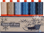 Aurifil - Touch of Blue Collection by Edyta Sitar 50wt
