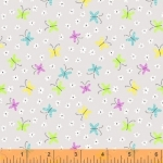 WINDHAM FABRICS - All A Flutter - Tiny Butterflies - #2821-