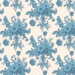 BREWER - Tilda - Cottage - Botanical -  Blue
