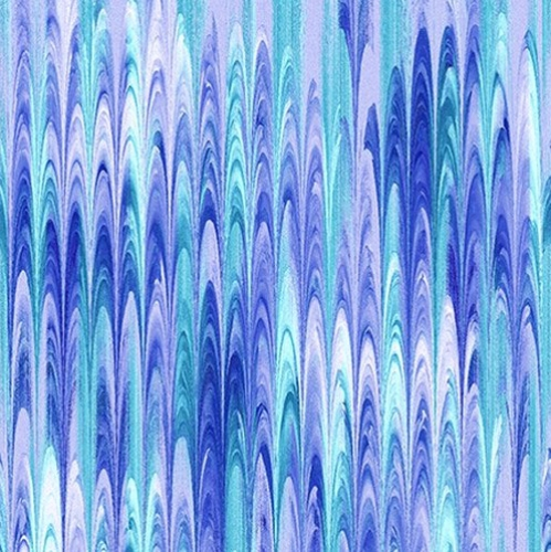 STUDIO E - Butterfly Vortex - Rake Texture - Teal
