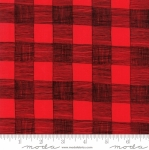 MODA FABRICS - Farm Fresh - Red/Black Gingham