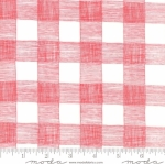 MODA FABRICS - Farm Fresh - Red/White Gingham