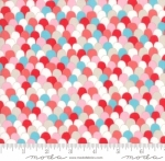 MODA FABRICS - Farm Fresh - Multi Feathers