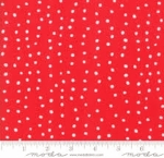 MODA FABRICS - Farm Fresh - Red Polka Dots