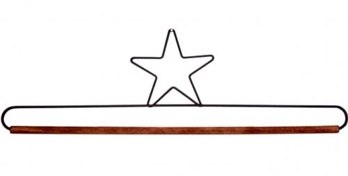 16 Inch Star Dowel Holder by Ackfeld
