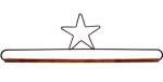 16 Inch Star Dowel Holder by Ackfeld