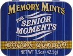 Memory Mints for Senior Moments. 1.5oz