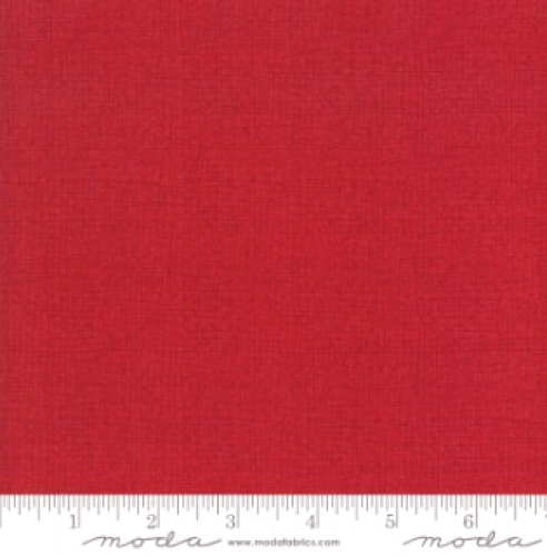 MODA FABRICS - Thatched - Scarlet