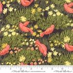 MODA FABRICS - Dandi Annie  - Birds - Charcoal - #2082