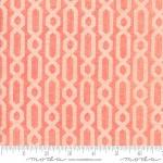 MODA FABRICS - Dandi Annie - Petal - Chains - Peach - #2087