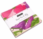 Sweet Pea Lily Charm Pack by Robin Pickens Moda Precuts