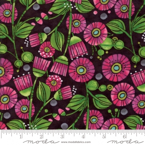 MODA FABRICS - Sweet Pea Lily - Floral Pink