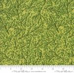 MODA FABRICS - Sweet Pea Lily - Sprigs Green