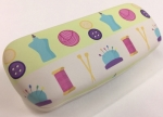 Eyeglasses Hard Case -  Cream
