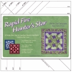 Rapid Fire Hunter's Star Petite Star Template by Deb Tucker