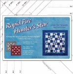 Clearance - Rapid Fire Hunter's Star Large Star Template by Deb Tucker