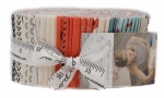 Mighty Machines Jelly Roll by Lydia Nelson Moda Precuts