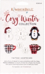 Cozy Winter Button Collection by KimberBell