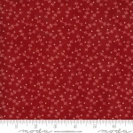 MODA FABRICS - Redwork Gatherings by Primitive Gatherings - Red