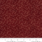 MODA FABRICS - Redwork Gatherings by Primitive Gatherings - Dark Red