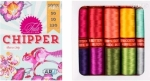 Aurifil Chipper Collection by Tula Pink 50 wt 10 Small Spools