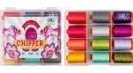 Aurifil Chipper Collection by Tula Pink 50 wt 12 Large Spools