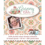 Granny Chic  - Aurifil Thread Collection by Lori Holt 50wt 10 Small Spools