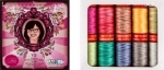 Aurifil Premium Collection by Tula Pink 50 wt 10 Small Spools