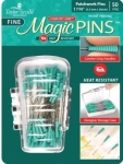 Tailor Mate Fine Patchwork Magic Pins 50 pieces
