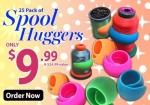 Spool Huggers 25 pack