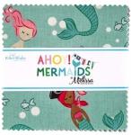 Riley Blake - Ahoy Mermaids 5 inch Stacker 42 pcs
