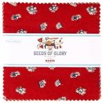Riley Blake - Seeds Of Glory 5 Inch Stacker 42 pcs
