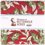 Riley Blake - Christmas at Buttermilk Acres 5 Inch Stacker by Stacy West 42 pcs