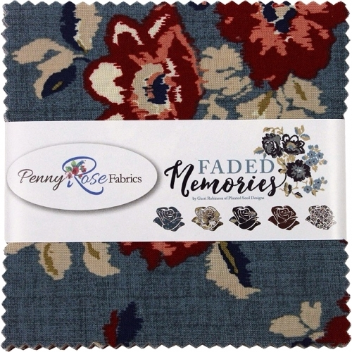 Penny Rose - Faded Memories 5 inch Stacker 42 pcs