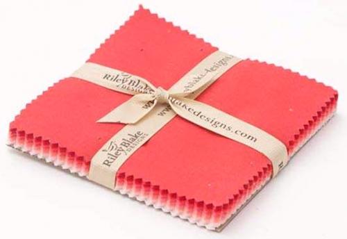 Riley Blake - Confetti Cottons - Valentines 5 Inch Stacker 42pcs