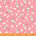 WINDHAM FABRICS - Sleepy Time Kids - Pink - FB7330