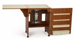 Arrow Sewnatra Sewing Cabinet Oak Drop Ship