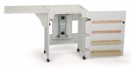 Arrow Sewnatra Sewing Cabinet White Drop Ship