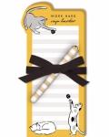 Catnap - Pet Diecut Notepad w/Pen 50222 by Lady Jayne