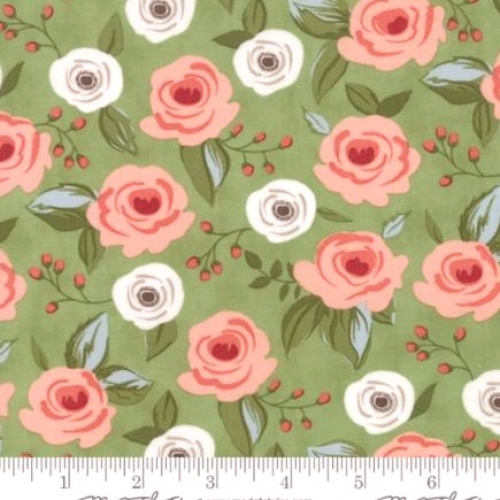 MODA FABRICS - Farmers Daughter - Green