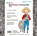 New - High Density Wool Medium 12x18 Pressing Mat