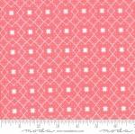MODA FABRICS - Lollipop Garden - Stars Raspberry