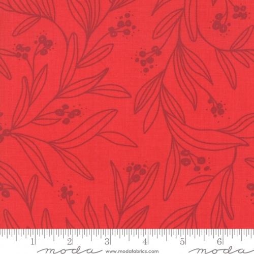 MODA FABRICS - Little Tree - Tonal Cranberry